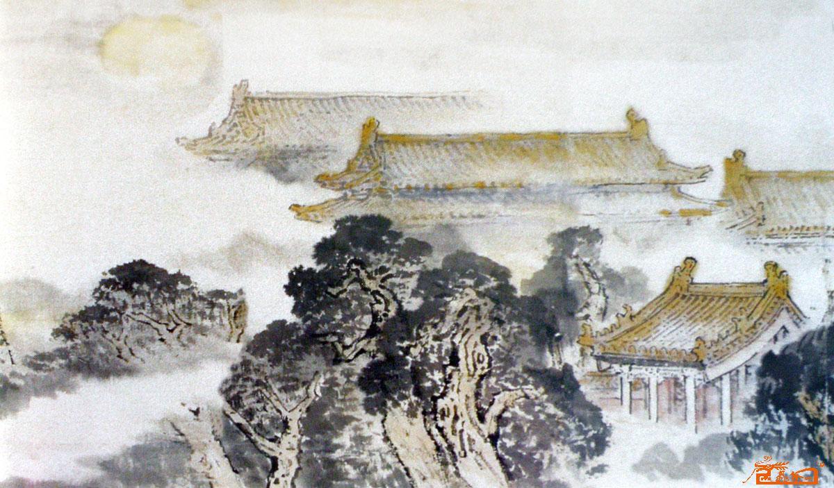聂耕-鼓楼1-淘宝-名人字画-中国书画服务中心,中国,中图片